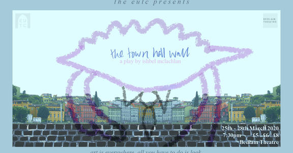 Town hall wall event cover